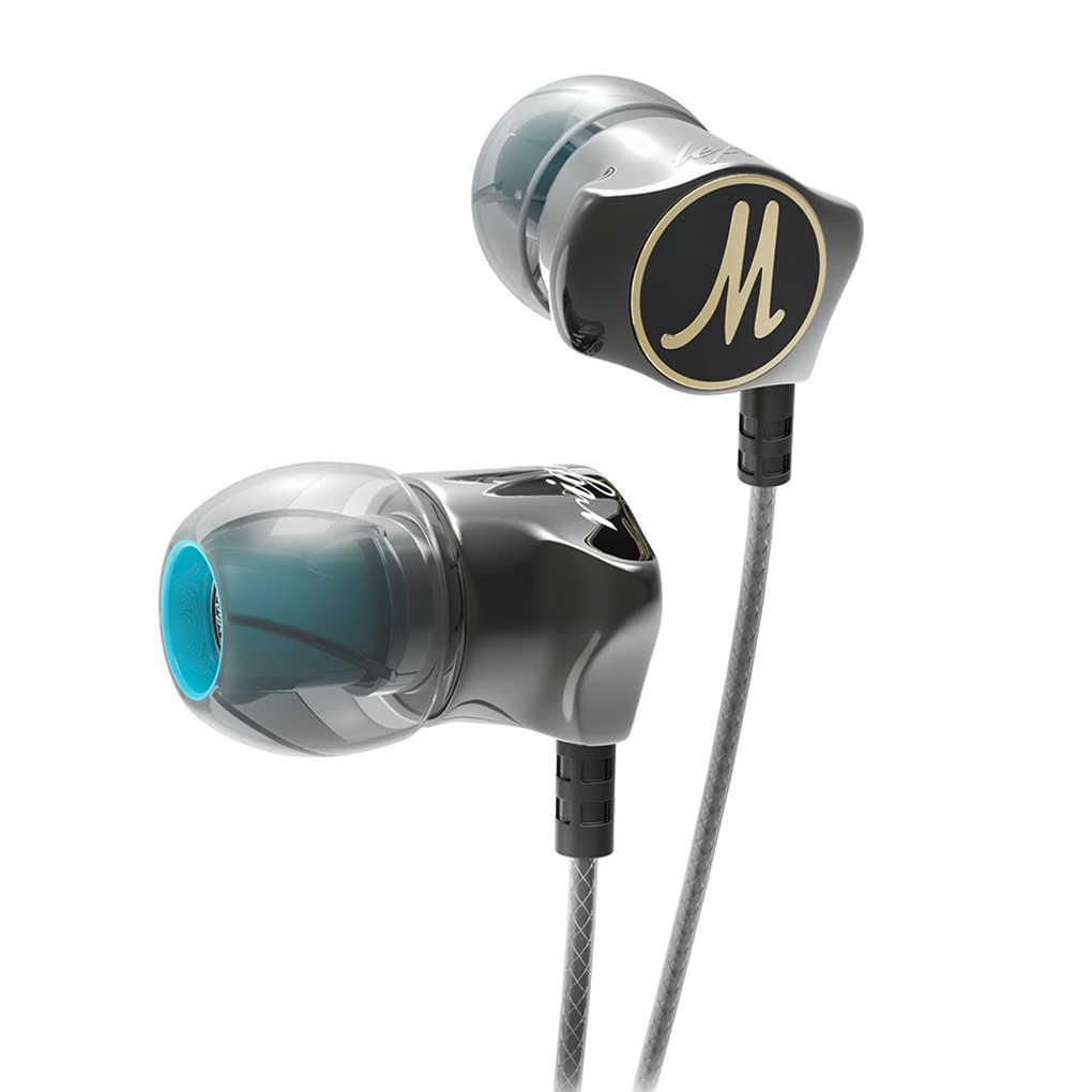 سماعات أذن QKZ DM7 جديدة إصدار خاص لعام 2020 مطلية بالذهب مع عزل الضوضاء وصوت عالي الدقة ومزودة بميكروفون مدمج