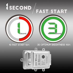 Image 3 - Fast Start AC Ballast Block 55W HID Xenon Digital Ballast Ignition For Car Xenon Bulb H7 H1 H4 H3 H11 H8 H13 9012 9005 9006 9007