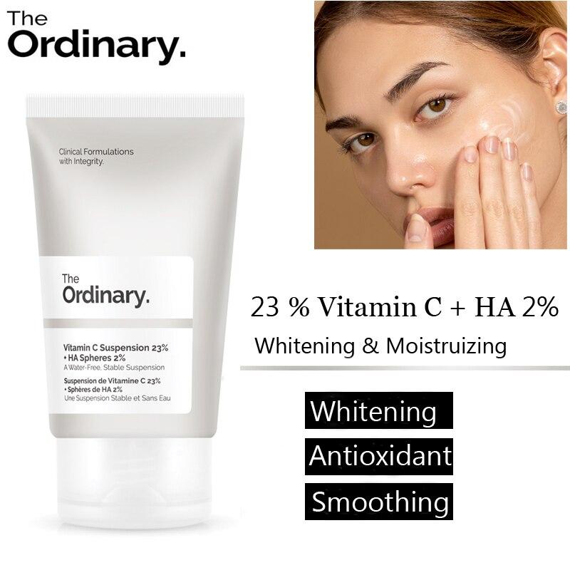 The Ordinary Vitamin C Suspension 23% + HA Spheres 30ml Functional Whitening Moisture Face Cream