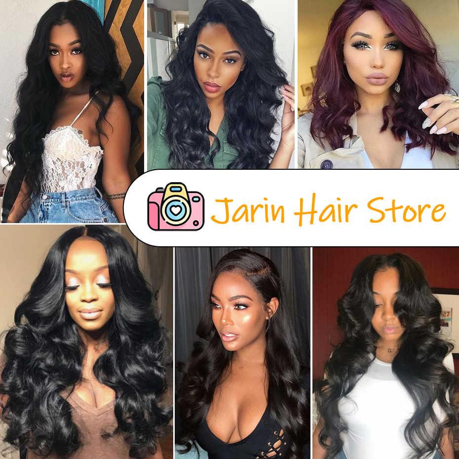 4x4 5x5 6x6 zamknięcie koronki peruki Remy peruka body wave włosów ludzkich peruk dla kobiet peru włosy naturalny kolor Jarin 150% gęstość