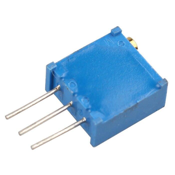 Potentiomètre 10 tours 50 100 200 500 Ohm 1K 2K 5K 10K 20K 50K 100K 200K 500K 1M Ohm potentiomètre réglable Trimpot pour Arduino