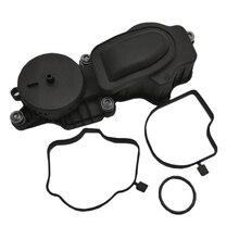 Car Crankcase Valve Engine Block Breather Oil For-BMW E46 E60 E65 E90 11127794597