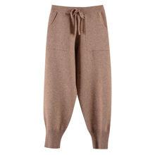 Hlbcbg упругие талии толстые штаны шаровары для женщин Рабочая
