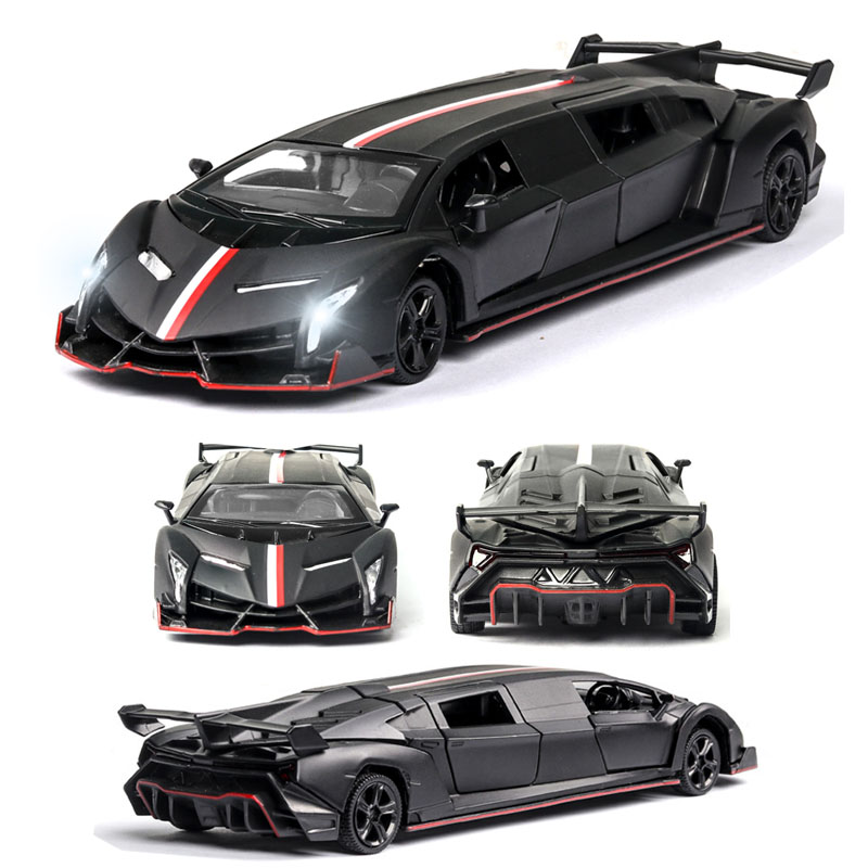 1:32  Lamborghini-veneno Car Model Alloy Car Die Cast Toy Car Model Pull Back Children's Toy Collectibles Free Shipping