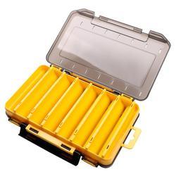 Wędkarskie pudełko na przynęty przenośne dwustronnie sztuczna przynęta Case Organizer przynęta wędkarski sprzęt wędkarski akcesoria