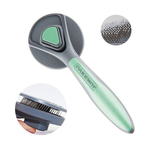 Pet Hair Removal & Grooming Brush 1
