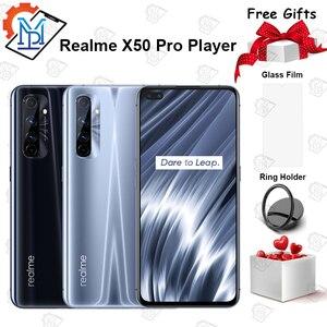 В наличии оригинальный Realme X50 Pro плеер 5G мобильный телефон 6,44
