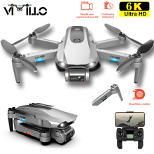 Nuovo Drone GPS K60 Pro con videocamera 6K 4K HD a due assi Gimbal Brushless professionale RC Quadrocopter 5G Wifi Fpv Dron PK K60 K20 S4