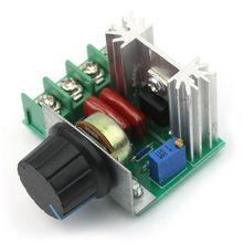 Регулировка переменного тока 220 в 2000 Вт scr регулятор напряжения