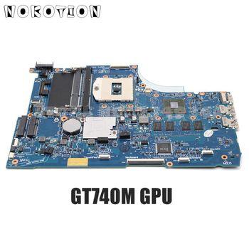 NOKOTION 720566-001 720566-501 749753-001 For HP Envy 15 15-J 15-J053CL Laptop motherboard HM87 DDR3L GT740M 2GB GPU