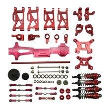 1/14 wltoys 144001 atualizar metal kit peças de reposição engrenagens acessórios conjunto