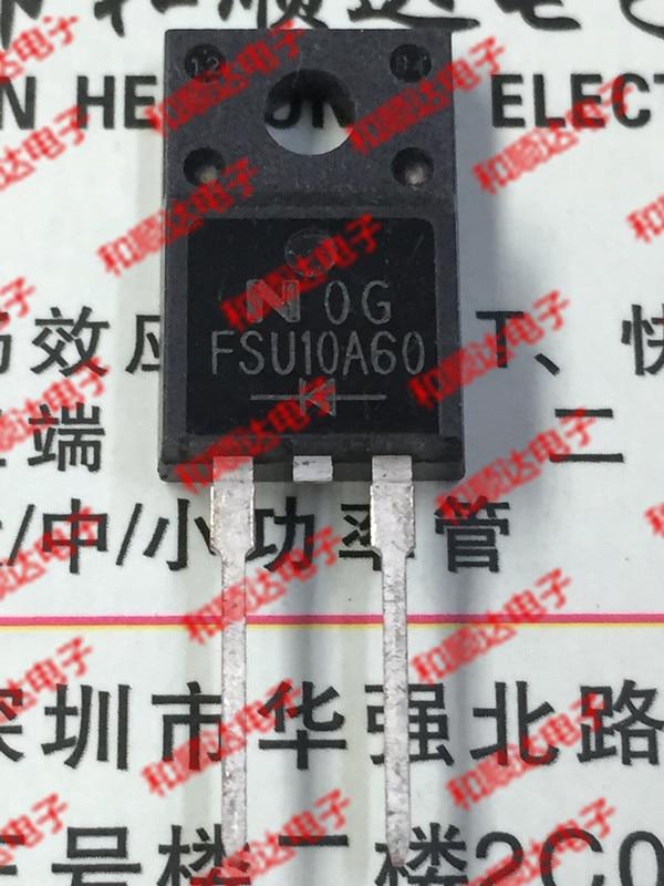 Новинка (5 шт.) FSU10A60 TO-220F 600V 10A