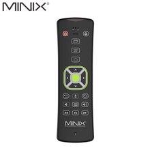 MINIX NEO A3 الخلفية نسخة تحكم عن بُعد لاسلكي مع صوت المدخلات لوحة مفاتيح كويرتي ستة محاور جيروسكوب ريموت ل MINIX مربع التلفزيون الذكية