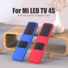 SIKAI ل مي LED TV 4S عن حماية حالة ل Xiaomi 4S TV تحكم غطاء سيليكون للصدمات الجلد ودية حامي