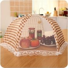 Складной стол, покрытие для еды, стильный зонт Против мух, комаров, кухонные инструменты для приготовления пищи, покрытие для еды, покрытие для стола, Сетчатое покрытие для еды