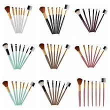 7Pcs Makeup Brushes Set Lip Eyeshadow Kit pinceis de maquiagem Foundation Powder Highlighter Palette Brush Beauty Tools недорого