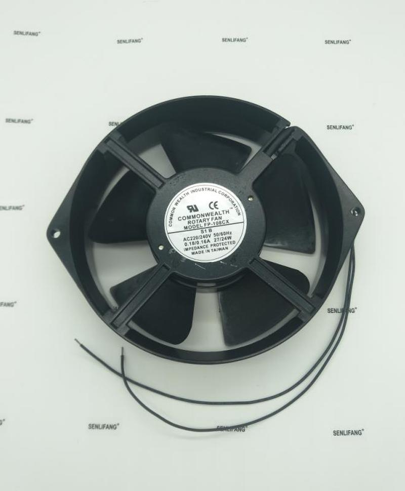 NEW COMMONWEALTH FP-108CX-S1-B 170*150*38mm 220V Frequency Cooling Fan Free Shipping