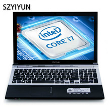 15.6 Inch Intel Core i7-5500U Laptop 8G Windows 7 Working Notebook PC Computer with DVD Optical Drive Student Portable Netbook