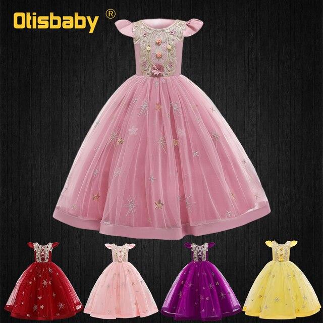 Celebrity-Inspired Dresses for Girls Tulle Floral Children Eleghant Wedding Dress Graduation Ceremony Kids Long Evening Dresses