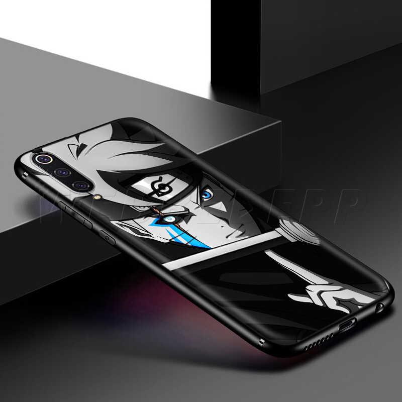 Webbedepp Boruto Case for Samsung Galaxy S7 S8 S9 S10 Plus Nota Borda 10 8 9 A10 A20 A30 A40 A50 A60 A70