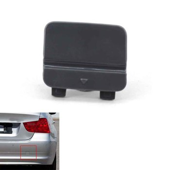 1 PCS Auto Rear Bumper Tow Hook Cover for BMW E90 E91 LCI 3 Series 09-12 328i 51127202673 Not fit cars with M Sport package image