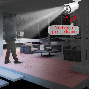Image 3 - Misecu愛スマート5MPシステム16CH poe cctvセキュリティnvrキット人間/検出双方向オーディオ屋外ipカメラ監視システム