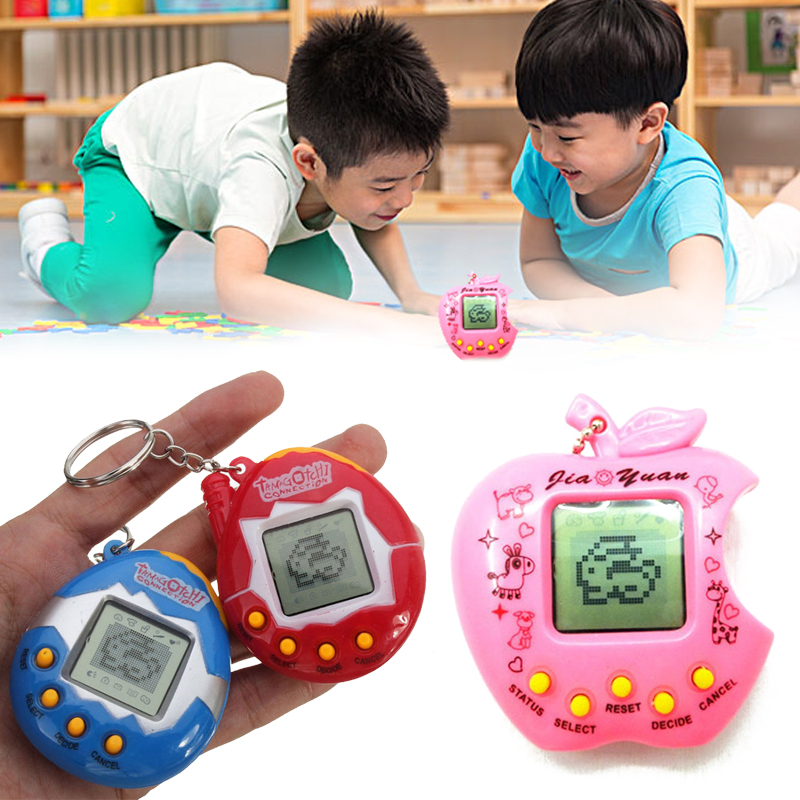 Electronic Pets Toy Virtual Cyber Pets Game Tamagochi Pet Amusing Retro 168 Pets in Machine Games Kids Game Playing Random Color image