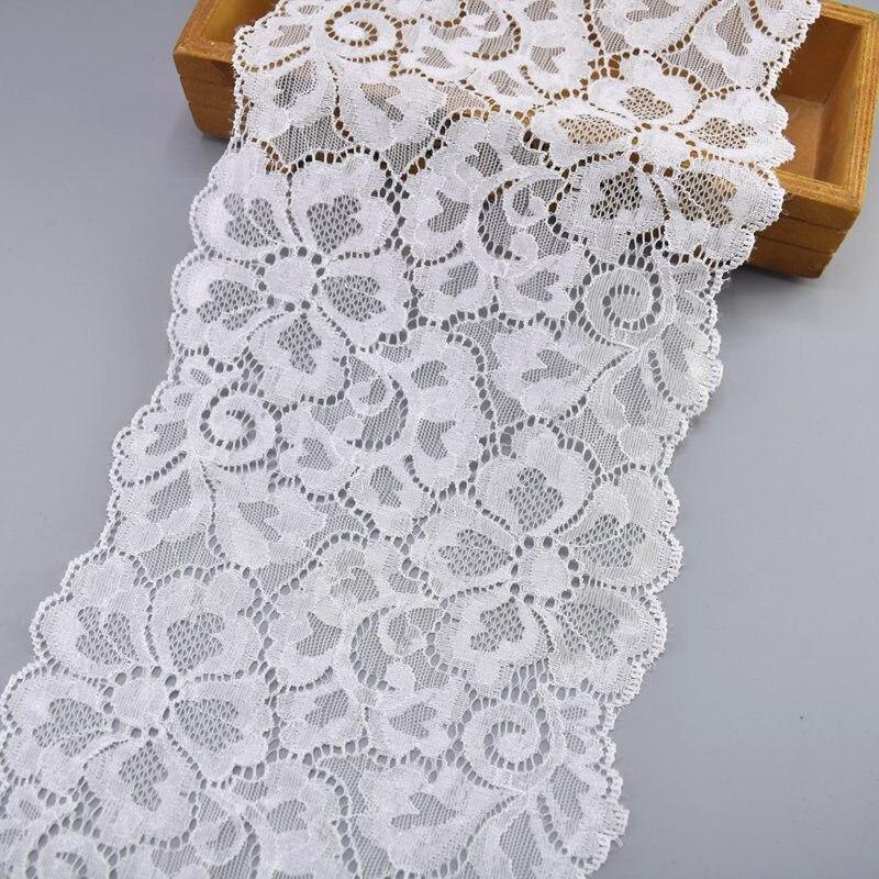 4.5cm Pleated Organza Lace Edge Trim Gathered Mesh Ribbon