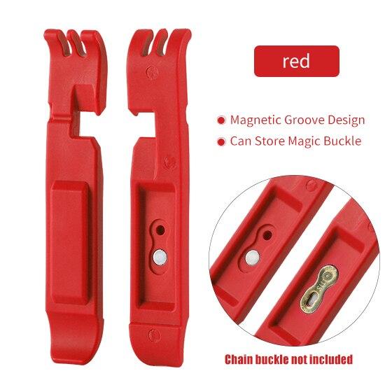 WEST BIKING, отсутствующий рычаг, MTB, велосипедная цепь, инструменты, волшебная Пряжка, инструмент для ремонта, инструмент для удаления велосипеда, мастер-звено, плоскогубцы, инструмент для ремонта велосипеда - Цвет: Red  no chain