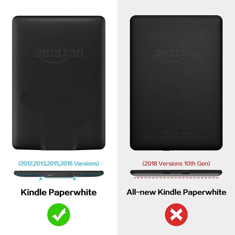 BOZHUORUI Case for Amazon Kindle Paperwhite1/2/3(7th Generation-2012/2013/2015/2017 Release)e-Books DP75SDI Handheld Stand Cover