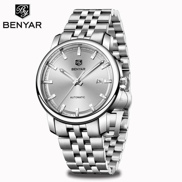 2020 New BENYAR Men's Mechanical Watches Automatic Mens watches Top Brand Luxury watch men WristWatch Military Relogio Masculino 10