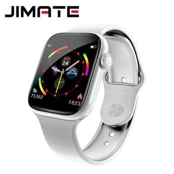 Reloj inteligente deportivo IP68 de hombre y mujer, reloj inteligente resistente al agua, con control del ritmo cardíaco y de la presión sanguínea y Bluetooth