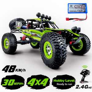 Image 2 - 1/12 RC Cars 4WD High Speed Racing car 48km/h RTR Rc truck 2.4G Radio Control Buggy Off Road vehicle Electric Toy Gifts