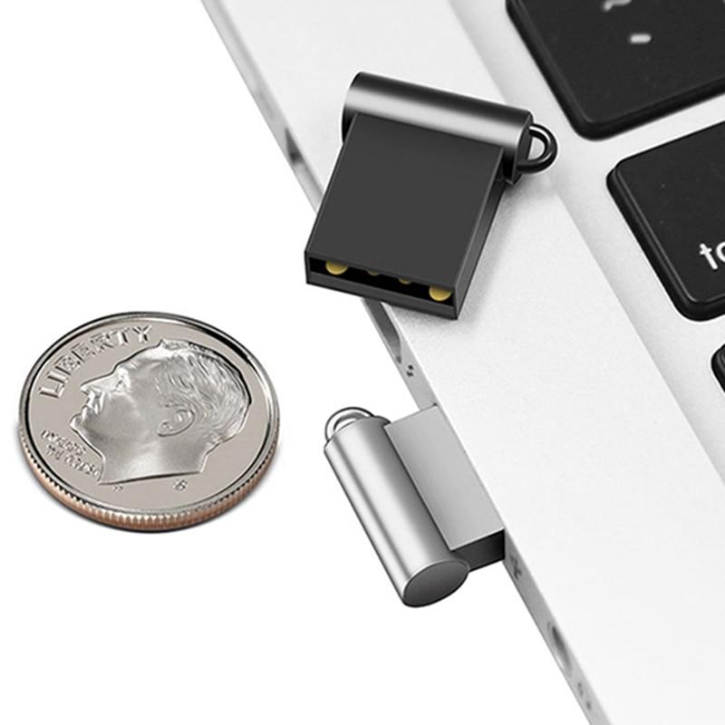 Pen Drive 64 G 32gb Usb Flash Drive 128g 16gb Flash Drive Metal Pendrive 8gb Usb Stick Flash Vara U Disk Cle USB 2.0 Usb Drive