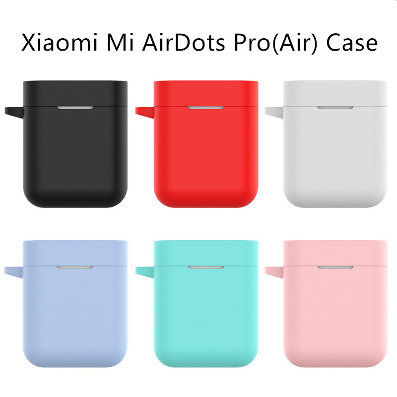 Silicone Case For Xiaomi Airdots Pro True Wireless Bluetooth Earphone Shockproof Bags for Xiaomi Air Airdots Case Cover
