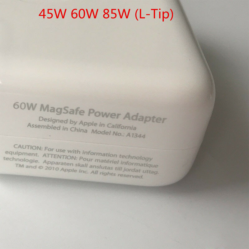 45W 60W 85W L-type NewOriginal For Apple Macbook Pro AC Adapter Charger Magsafe 1
