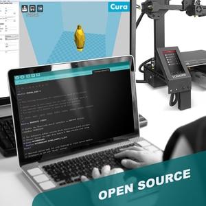"Image 3 - כבר LK4 פרו פתוח מקור 3D מדפסת 4.3 ""מלא צבע מגע מסך מלא מתכת גבוהה דיוק Impresora 3D"
