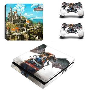 Image 5 - 와일드 헌터 전체 Faceplates PS4 슬림 스킨 스티커 데칼 비닐 플레이 스테이션 4 콘솔 & 컨트롤러 PS4 스티커
