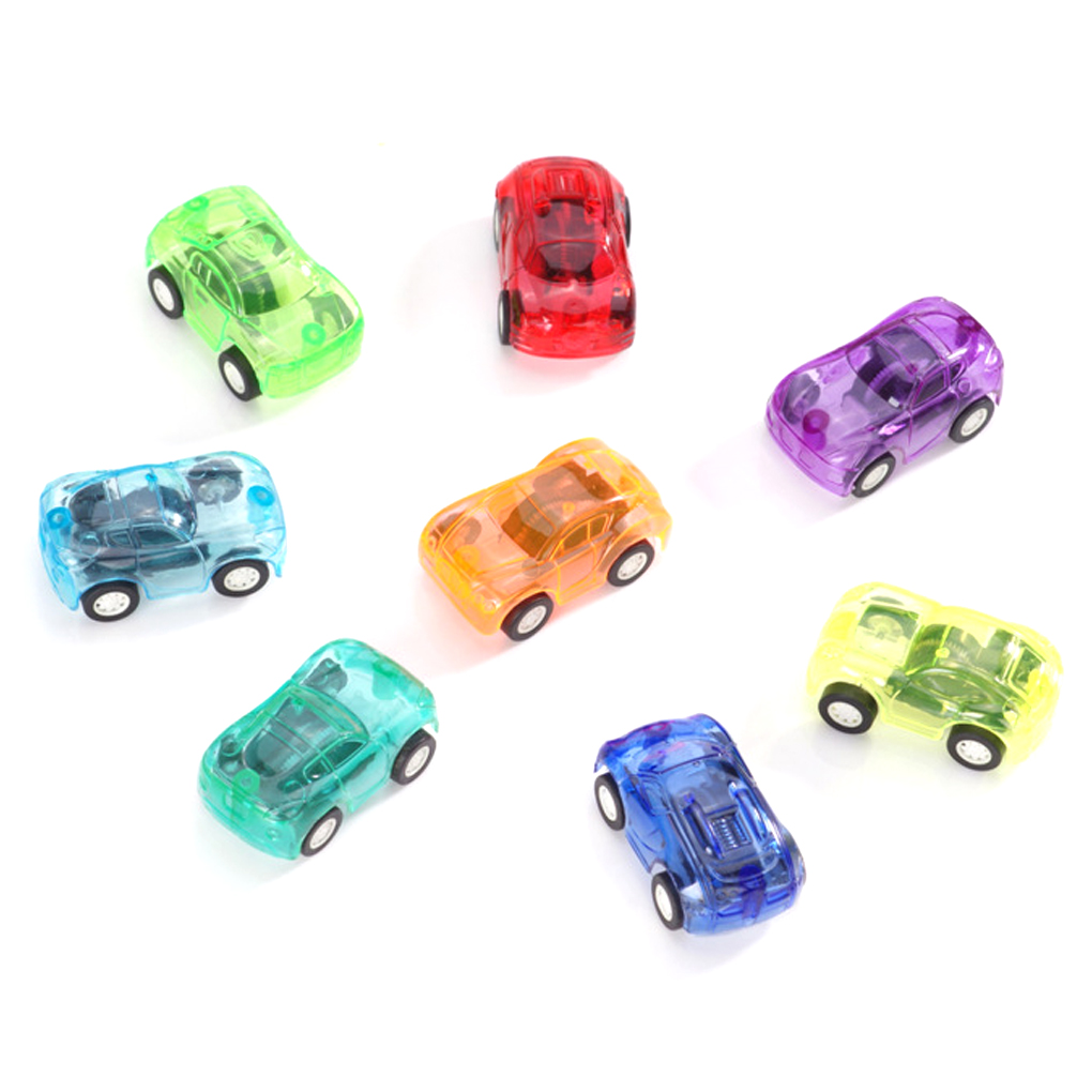 1/2/3PCS Baby Pull Back Mini Vehicle Cartoon Car Kids Favor Toys For Boys Funny Baby Kids Educational Model Plastic Toy Gift