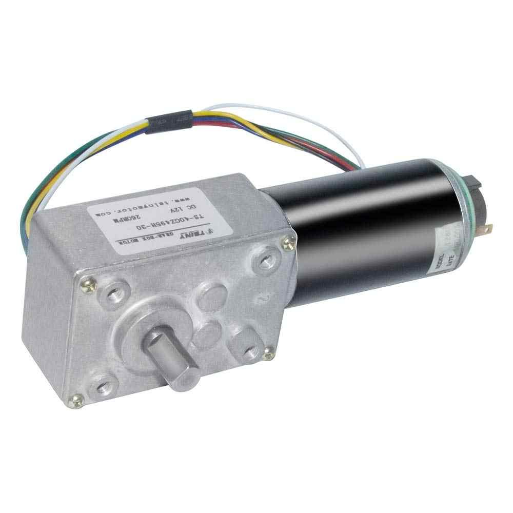 """40GZ495H DC הילוך מקודד מנוע 12V 8-470 סל""""ד עם חשמלי תיבת הילוכים מפחית מומנט גבוה חשמלי טורבו הילוך מנוע עם מקודד"""
