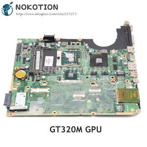 NOKOTION Laptop motherboard for HP Pavilion DV7 DV7-3000 Series PM55 DDR3 GT320M graphics Support I7 605699-001 DA0UP6MB6F0