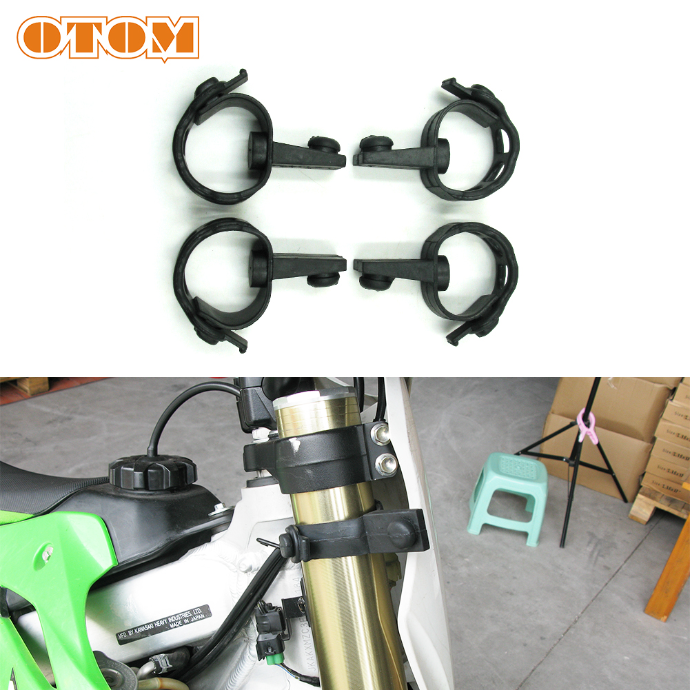 OTOM Motorcycle Headlight Straps Headlight Fairing Rubber Straps Holder Pit Bike Enduro Headlamp Fix Brackets For KTM HUSQVARNA