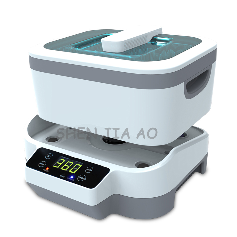 JP-1200 Ultrasonic cleaning machine small split type household glasses jewelry watch ultrasonic cleaners 110/220V