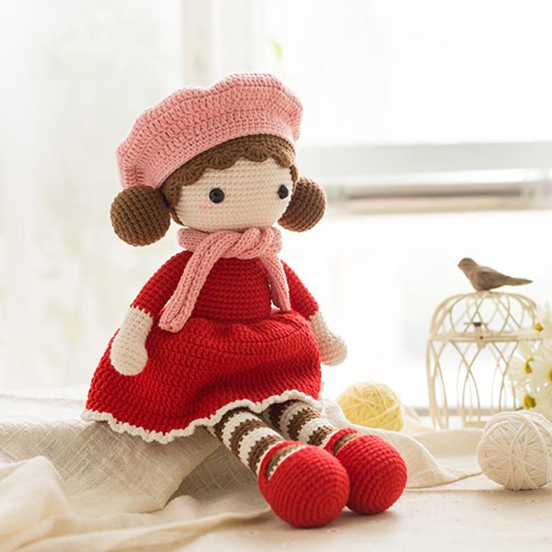 Crochet Unicorn Amigurumi Stuffed Animals Plush Toys Baby Girl Gifts Photo Props