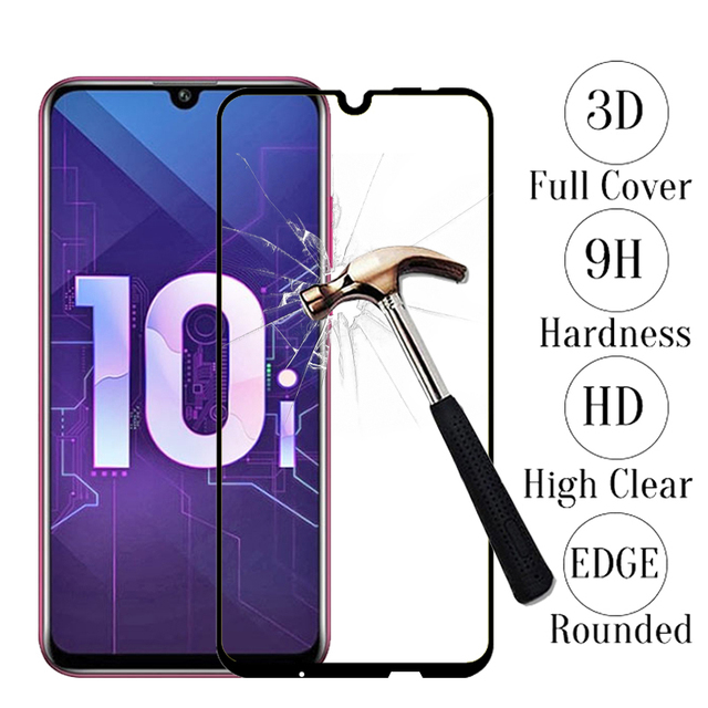 For Huawei Honor 10i Tempered Glass Protective Glas Safety Film Screen Protector On Honor 10 Lite Honer 10i 10 i Light HRY LX1T
