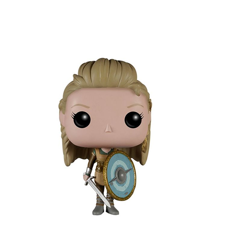 Image 2 - Vikings Toy Ragnar Lothbrok and Lagertha Action Figures Doll For Kids Christmas Toy-in Action & Toy Figures from Toys & Hobbies