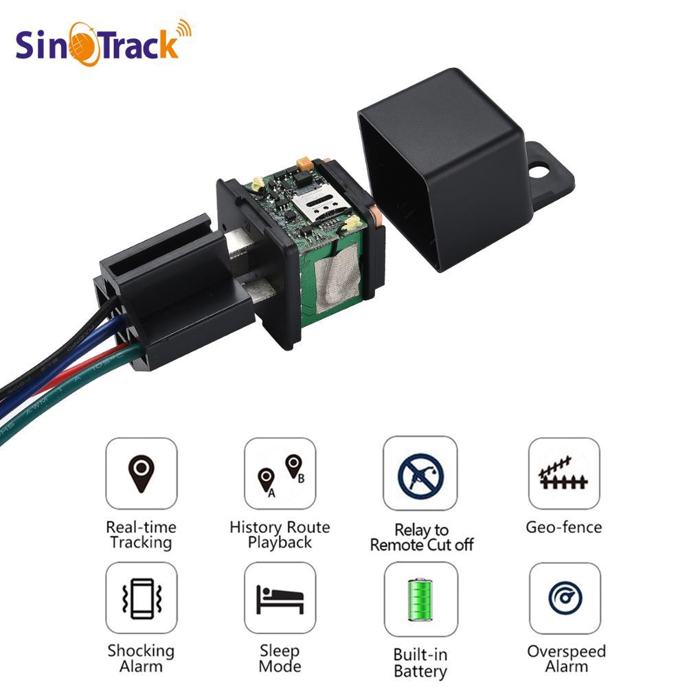 Rastreador GPS de coche ST-907, dispositivo de relé de seguimiento, localizador GSM, Control remoto, monitoreo antirrobo, corte de sistema de aceite con aplicación gratuita