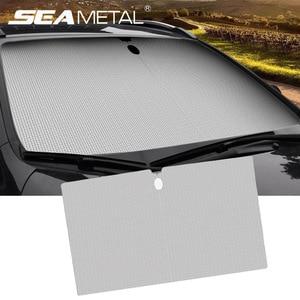 Car Sunshade Front Window Sun Shade Cover Universal For SUV Sedan Hatchback MPV Window Windshield Auto Sunshades Accessories(China)