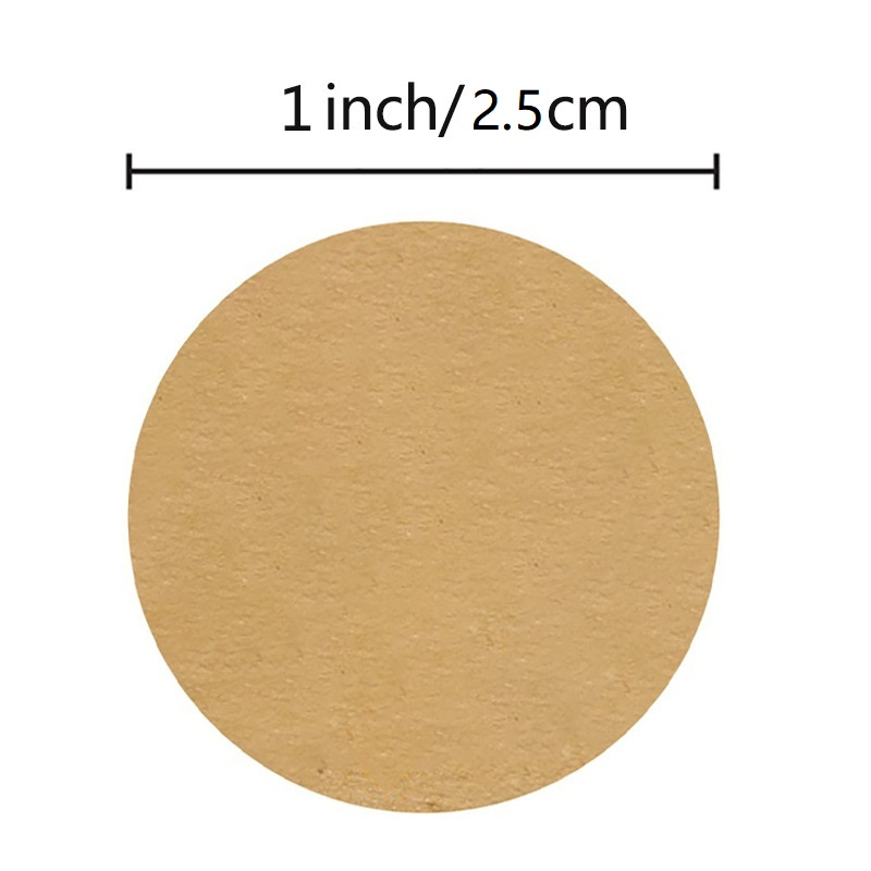 Transparent Round DIY Multifunction Sticker for Gift Packing Cute 40mm Seal Tool