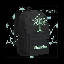 MeanCat Властелин колец сумка для мужчин Рюкзак Студенческая сумка для книг